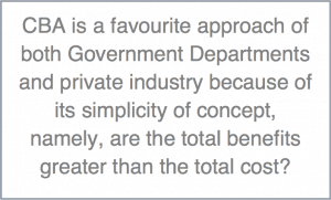 Cost Benefit Analysis Explanation