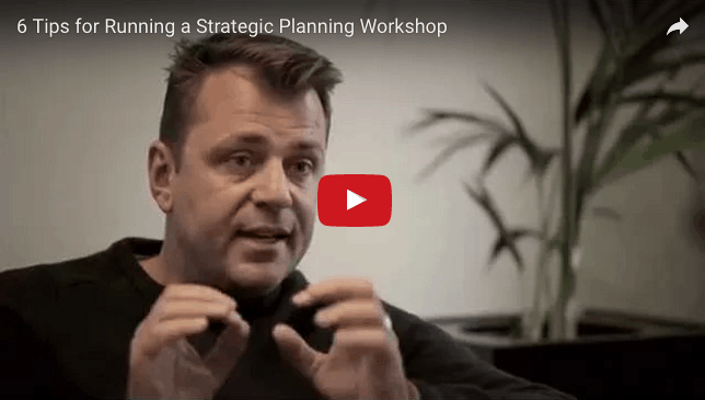 Video how to run a strategic planning workshop